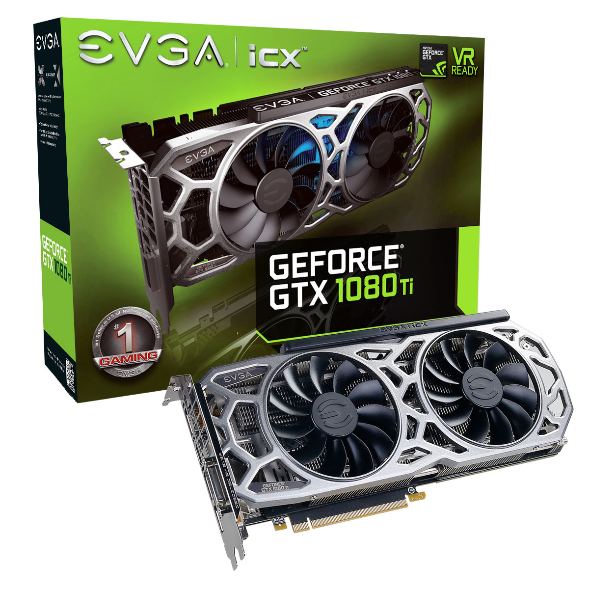 evga geforce gtx 1080 ti sc2 gaming icx carte graphique evga sur ldlc. Black Bedroom Furniture Sets. Home Design Ideas