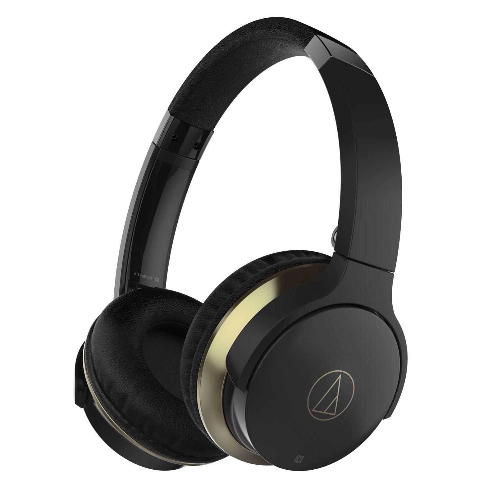 audio technica ath ar3bt noir casque audio technica sur ldlc. Black Bedroom Furniture Sets. Home Design Ideas