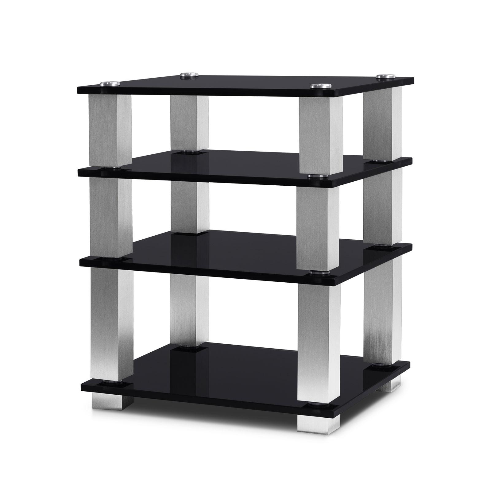 Norstone square hifi meuble tv norstone sur ldlc - Meuble tv avec etagere ...