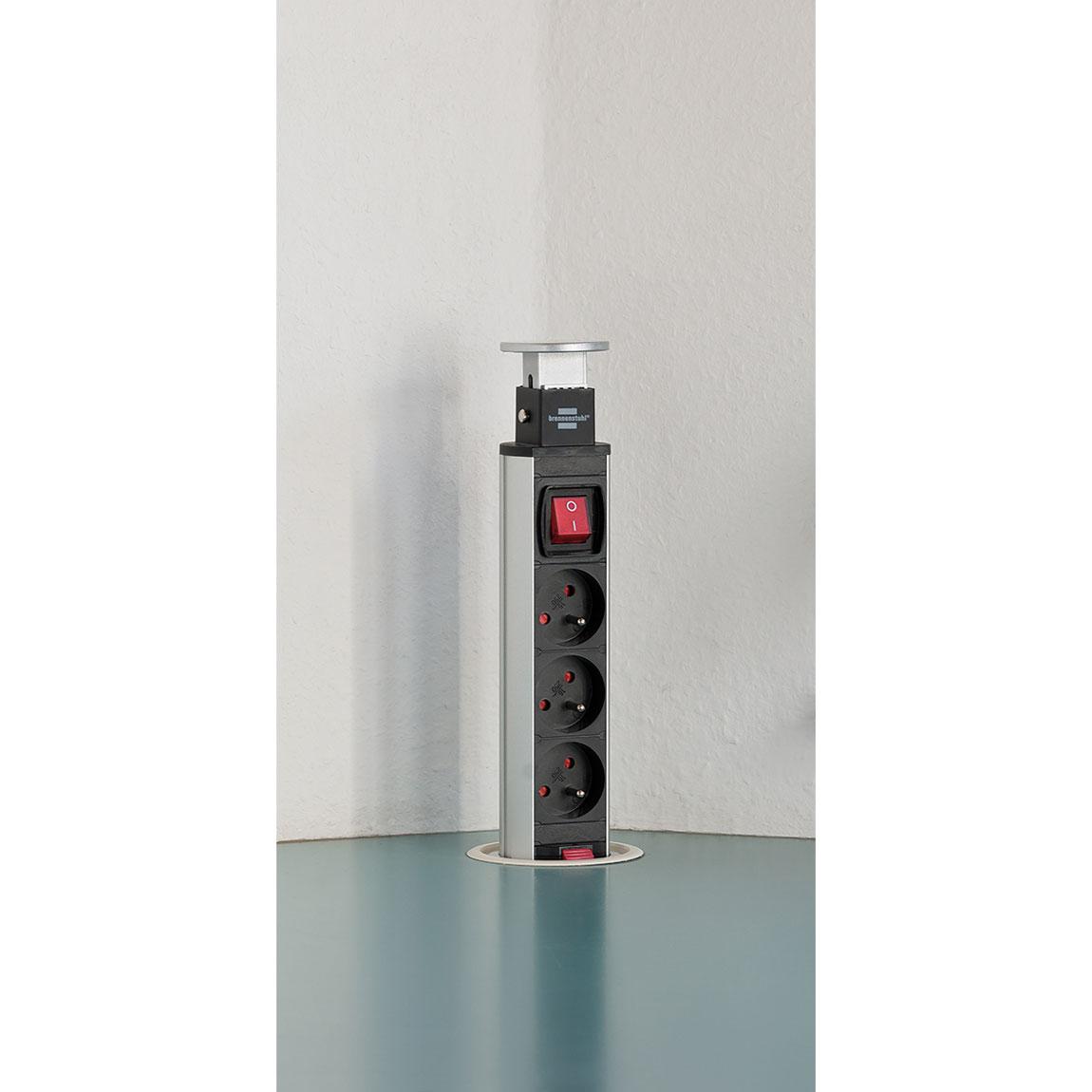brennenstuhl tower power 3 prises multiprise brennenstuhl sur ldlc. Black Bedroom Furniture Sets. Home Design Ideas