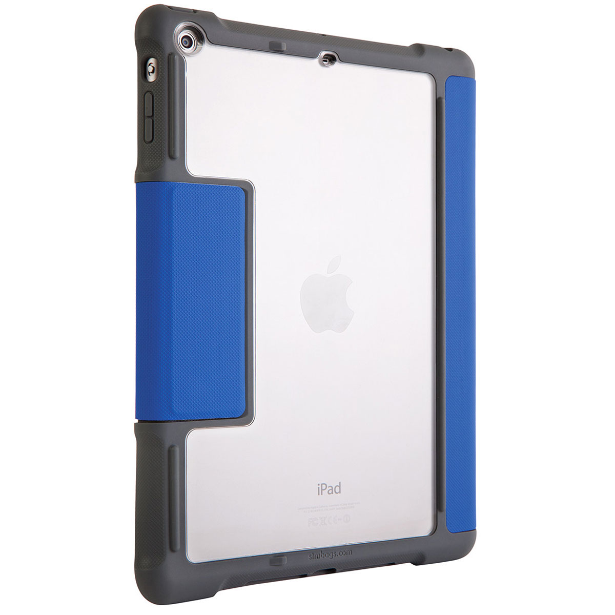 stm dux ipad air bleu accessoires tablette stm sur ldlc. Black Bedroom Furniture Sets. Home Design Ideas