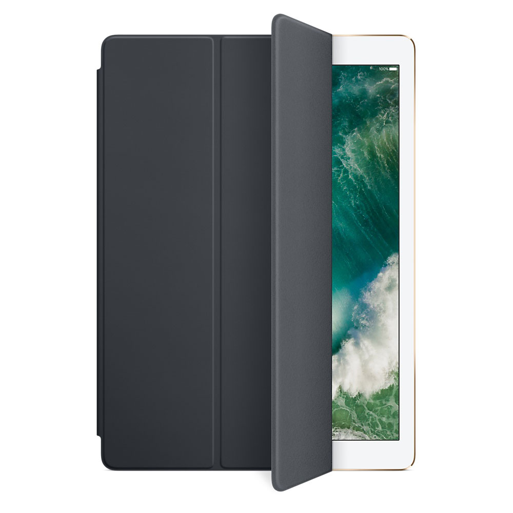 apple ipad pro 12 9 smart cover gris anthracite. Black Bedroom Furniture Sets. Home Design Ideas