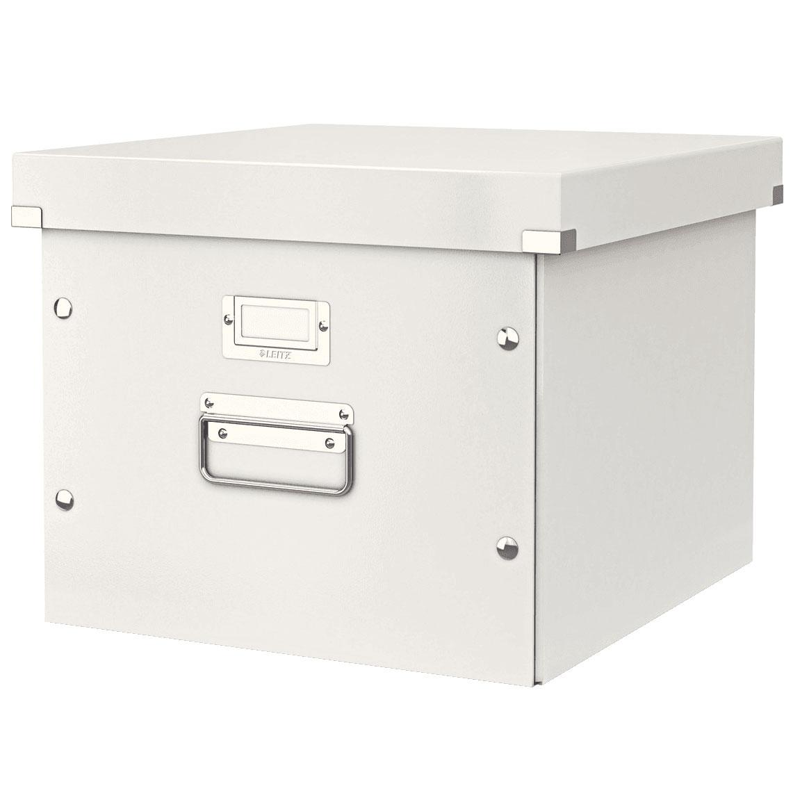 leitz click store format haut blanc bo te de rangement leitz sur ldlc. Black Bedroom Furniture Sets. Home Design Ideas
