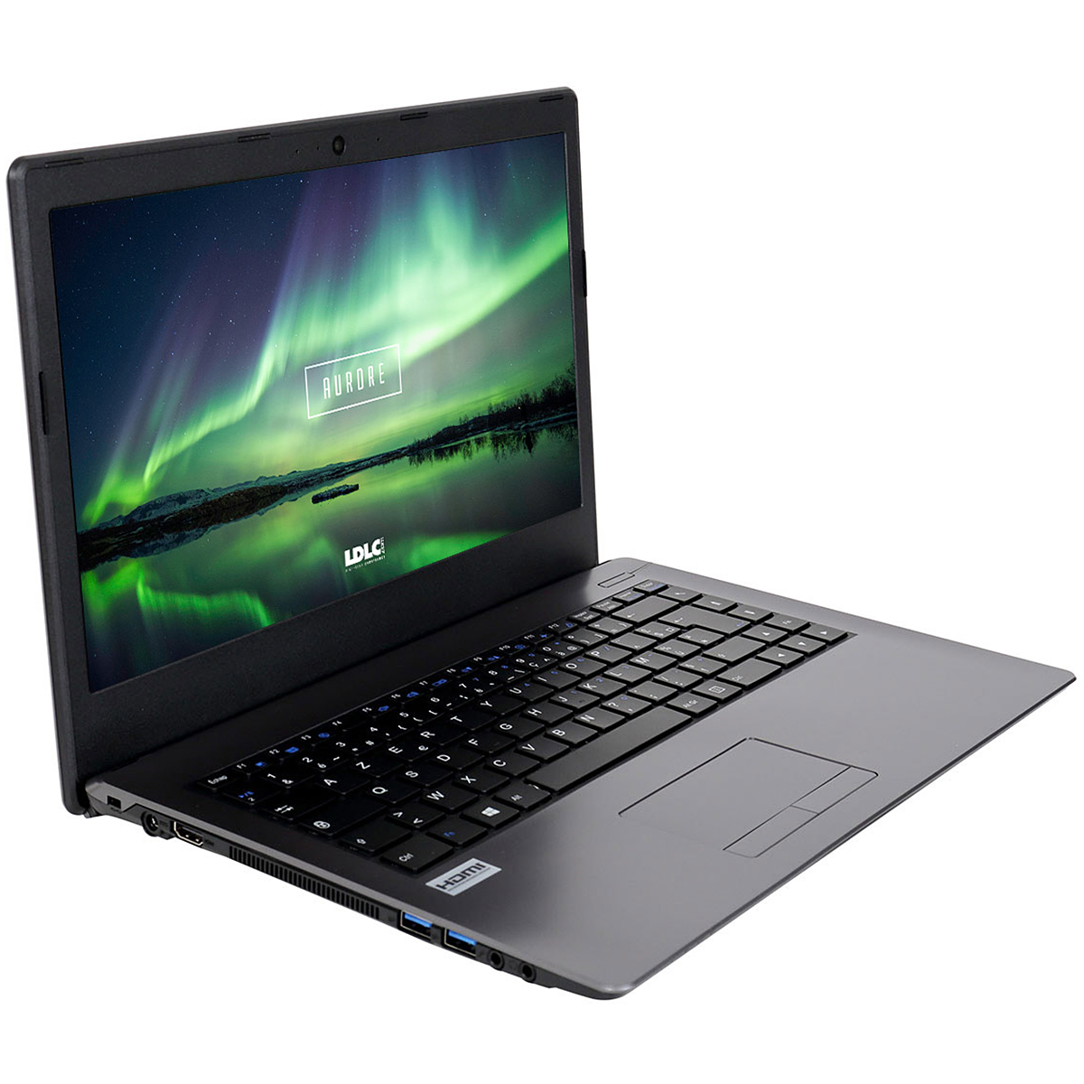 "PC portable LDLC Aurore PC5-4-H10 Intel Pentium 4405U 4 Go 1 To 14"" LED HD Wi-Fi N/Bluetooth Webcam (sans OS)"