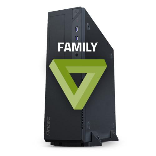 PC de bureau PC HardWare.fr Family - Kit (non monté - sans OS) Celeron G4600, GeForce GTX 1050 2 Go, 8 Go de DDR4, SSD 250 et Disque 1 To