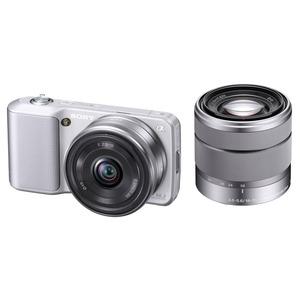 Sony nex 3 argent objectif 16 mm nex 3ds achat for Ecran noir appareil photo 3ds