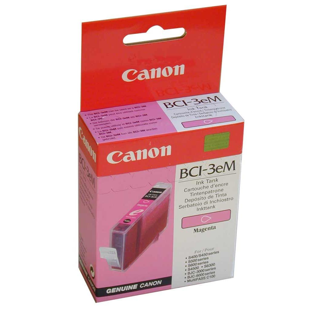 Cartouche imprimante Canon BCI-3e M Cartouche d'encre magenta