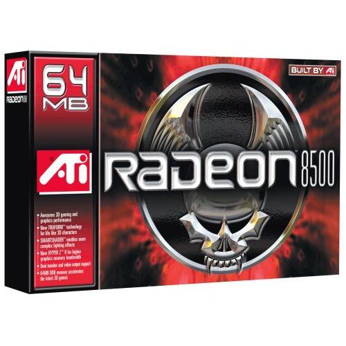 Carte graphique ATI Radeon 8500 64 Mo DDR TV (version boîte) ATI Radeon 8500 64 Mo DDR TV (version boîte)