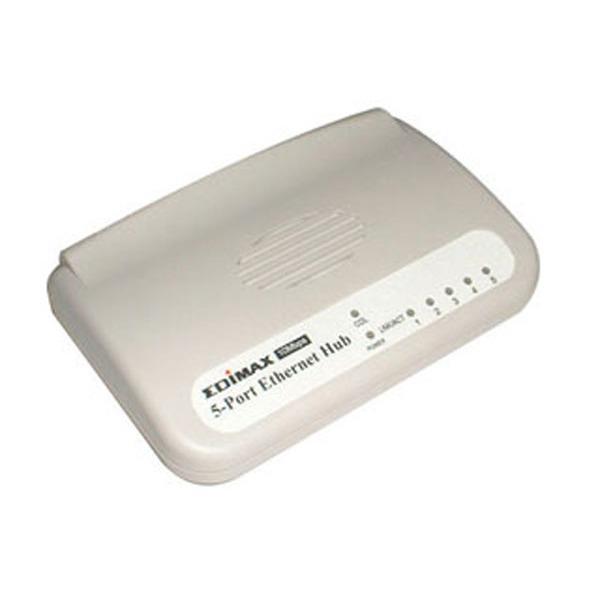LDLC.com Hub 5 ports Edimax RJ45 10/100Mb Hub 5 ports Edimax RJ45 10/100Mb