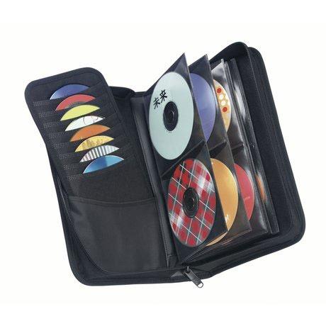 Pochette CD / DVD Case Logic CDW-64 Etui de rangement pour 64 CD/DVD/BD