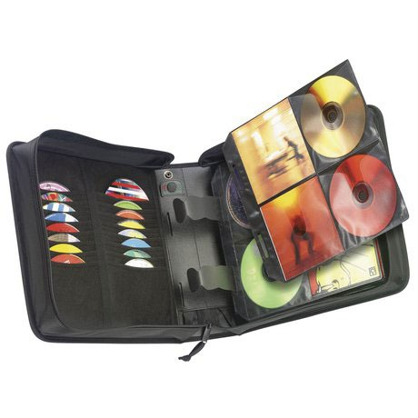 Pochette CD / DVD Case Logic CDW-208 Etui de rangement pour 208 CD/DVD/BD