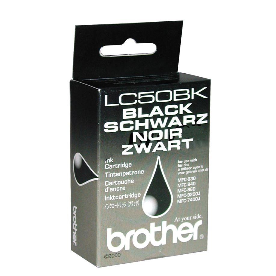 Cartouche imprimante Brother LC50BK - Noir Brother LC50BK - Noir