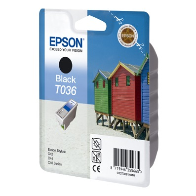 Cartouche imprimante Epson T036 Epson T036 - Cartouche d'encre noire