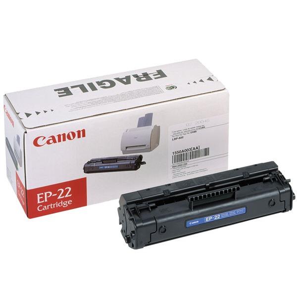 Toner imprimante Canon EP-22 Toner Noir (2 500 pages à 5%)