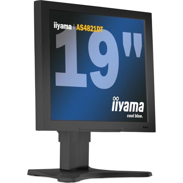 """Ecran PC iiyama 19"""" LCD - AS4821DT/BK (Noir) iiyama 19"""" LCD - AS4821DT/BK (Noir)"""