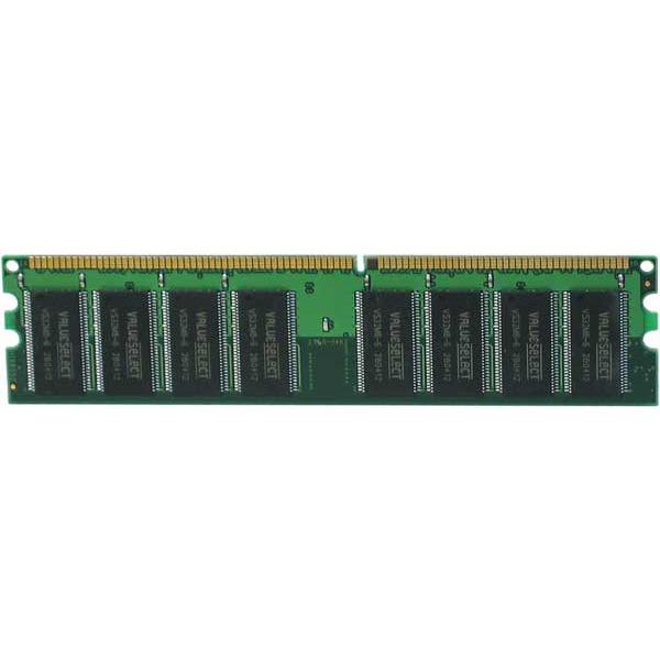 Mémoire PC Corsair Value Select 512 Mo DDR 400 MHz CL 2.5 RAM DDR PC3200 - VS512MB400 (garantie 10 ans par Corsair)