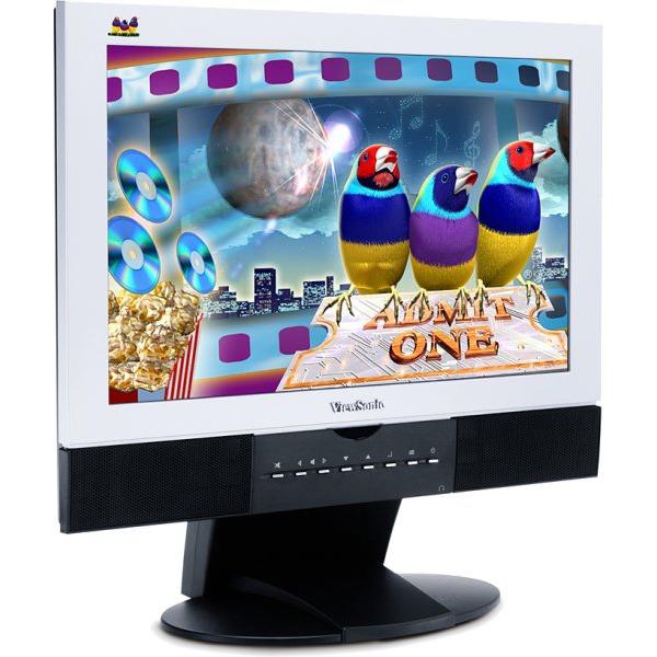 "Ecran PC ViewSonic 17"" LCD TV 16/9 ème - N1700W (garantie constructeur 3 ans sur site) ViewSonic 17"" LCD TV 16/9 ème - N1700W (garantie constructeur 3 ans sur site)"