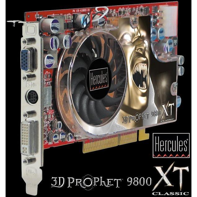 Carte graphique Hercules 3D Prophet 9800 XT Classic 256 Mo Hercules 3D Prophet 9800 XT Classic 256 Mo