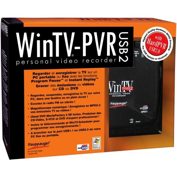 Tuner TNT USB Hauppauge WinTV-PVR-USB 2 Hauppauge WinTV-PVR-USB 2