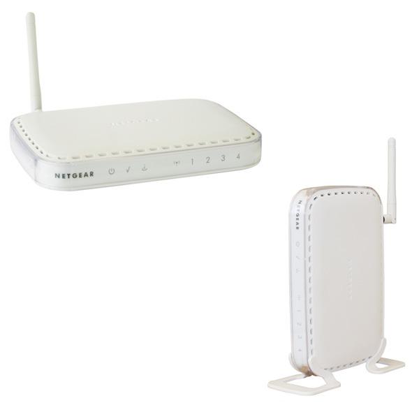 Modem & routeur Netgear DG834G - Modem/Routeur Firewall ADSL 2+ sans fil Netgear DG834G - Modem/Routeur Firewall ADSL 2+ sans fil (54 Mbit/s) 802.11g