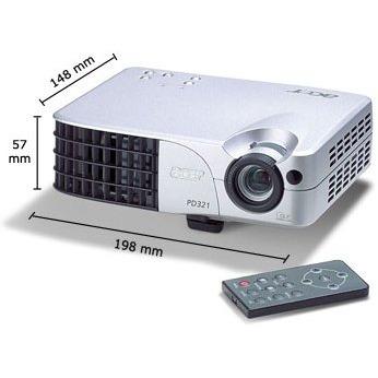 Vidéoprojecteur Acer PD321 - 1100 Lumens XGA, DLP (garantie 2 ans retour atelier) Acer PD321 - 1100 Lumens XGA, DLP (garantie 2 ans retour atelier)