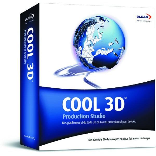 Ulead Cool 3d Production Studio Fran Ais Windows