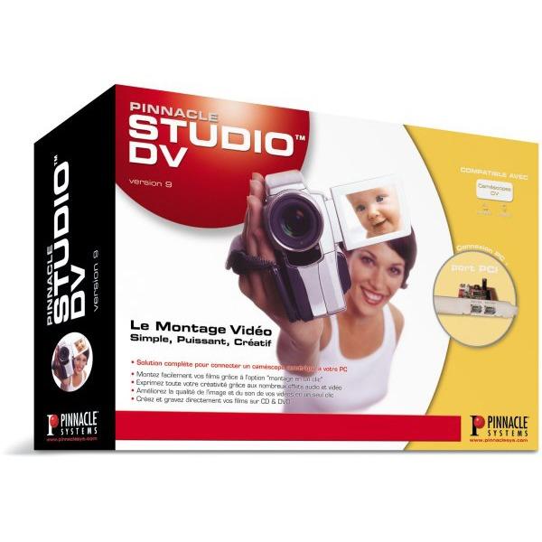 Carte d'acquisition Pinnacle Systems Studio DV version 9 (FireWire) Pinnacle Systems Studio DV version 9 (FireWire)