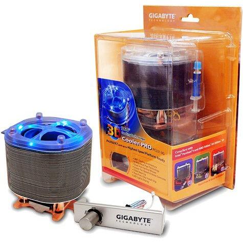 Ventilateur processeur Gigabyte GH-PCU21-VG (3D Cooler-Pro) Gigabyte GH-PCU21-VG (3D Cooler-Pro)