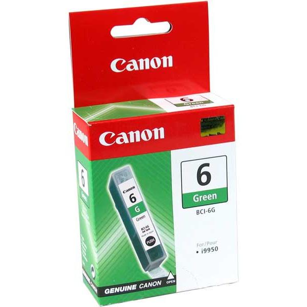 Cartouche imprimante Canon BCI-6 G Cartouche d'encre verte