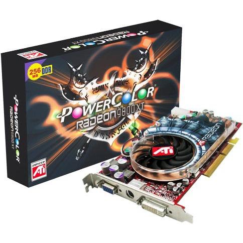 Carte graphique PowerColor Radeon 9800XT 256 Mo TV-Out/DVI PowerColor Radeon 9800XT 256 Mo TV-Out/DVI