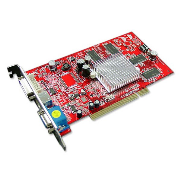 Carte graphique PowerColor Radeon 9200 PCI 256 Mo TV-Out/DVI PowerColor Radeon 9200 PCI 256 Mo TV-Out/DVI