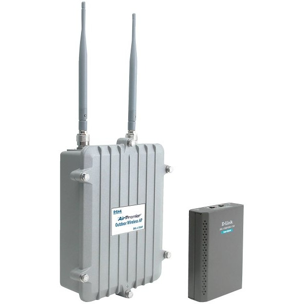 D link dwl 1700ap point d 39 acc s ext rieur pour for Point d acces wifi exterieur