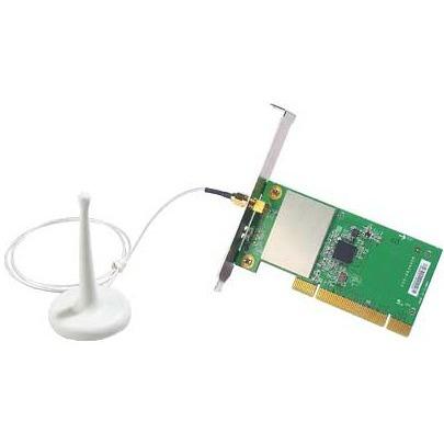 Carte réseau MSI PC54G2 - Carte PCI sans fil 802.11b/g + Antenne externe MSI PC54G2 - Carte PCI sans fil 802.11b/g + Antenne externe