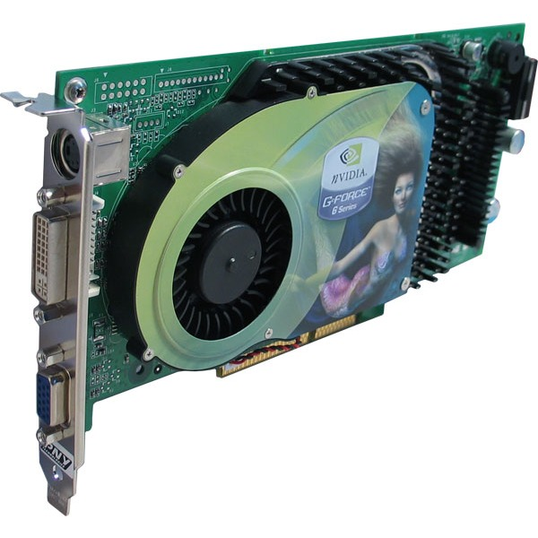 Carte graphique PNY Verto Geforce 6800 GT - 256 Mo TV-Out/DVI (NVIDIA GeForce 6800 GT) PNY Verto Geforce 6800 GT - 256 Mo TV-Out/DVI (NVIDIA GeForce 6800 GT)