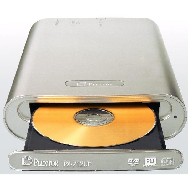 Lecteur graveur Plextor PX-712UF - DVD(+/-)RW 12/4/8/4x CD-RW 48/24/48x USB 2.0/FireWire 400 (boîte) Plextor PX-712UF - DVD(+/-)RW 12/4/8/4x CD-RW 48/24/48x USB 2.0/FireWire 400 (boîte)