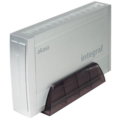 "Boîtier disque dur Akasa AK-EN-02SL Akasa AK-EN-02SL - Boîtier externe 3.5"" IDE Alu USB 2.0"