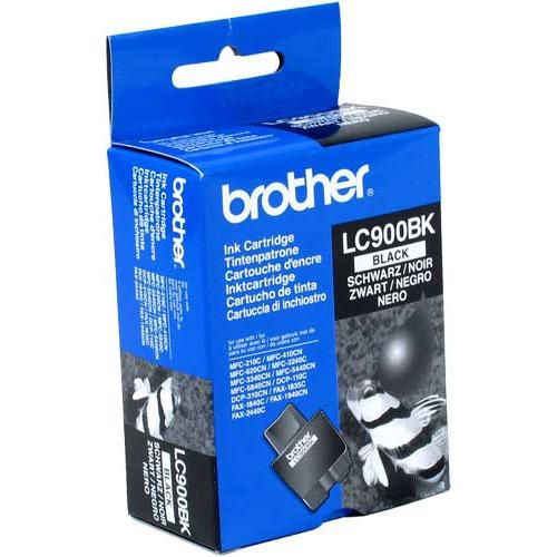 Cartouche imprimante Brother LC900BK Cartouche d'encre noire (500 pages à 5%)