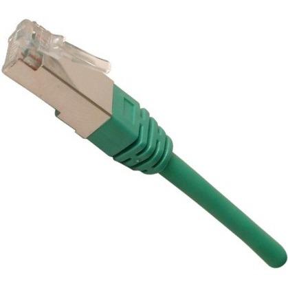 Câble RJ45 Câble RJ45 catégorie 5e STP 2 m (Vert) Câble RJ45 catégorie 5e STP 2 m (Vert)