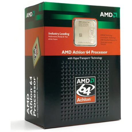 Processeur AMD Athlon 64 3200+ - 2.0 GHz, Cache L2 512 Ko Socket 939 (version boite) AMD Athlon 64 3200+ - 2.0 GHz, Cache L2 512 Ko Socket 939 (version boite)