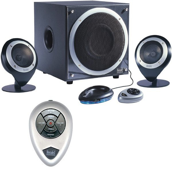 hercules xps black enceintes 2 1 design t l commande sans fil 4780372 achat. Black Bedroom Furniture Sets. Home Design Ideas