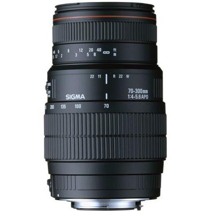 Objectif appareil photo SIGMA 70-300mm F4-5,6 DG APO Macro Super II monture Canon SIGMA 70-300mm F4-5,6 DG APO Macro Super II monture Canon - Télézoom macro