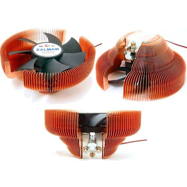 Ventilateur processeur Zalman CNPS7700-Cu Zalman CNPS7700-Cu (pour Intel Socket 478/775, AMD Socket 754/939/940)