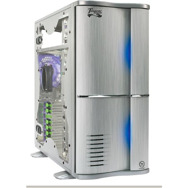Boîtier PC Thermaltake Tsunami - VA3000SWA Thermaltake Tsunami - VA3000SWA - Argent avec fenêtre