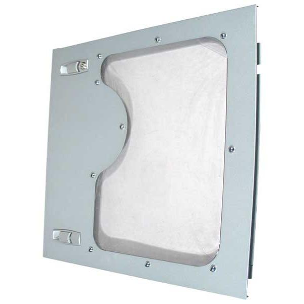 Panneaux latéraux PC Textorm fenêtre pour boîtier 974 MB (coloris argent) Textorm fenêtre pour boîtier 974 MB (coloris argent)