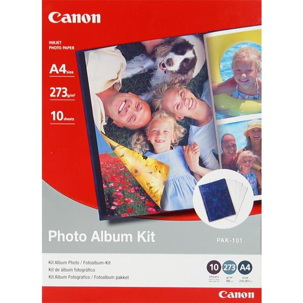 Papier imprimante Canon PAK-101 - Photo Album Kit A4 Canon PAK-101 - Photo Album Kit A4