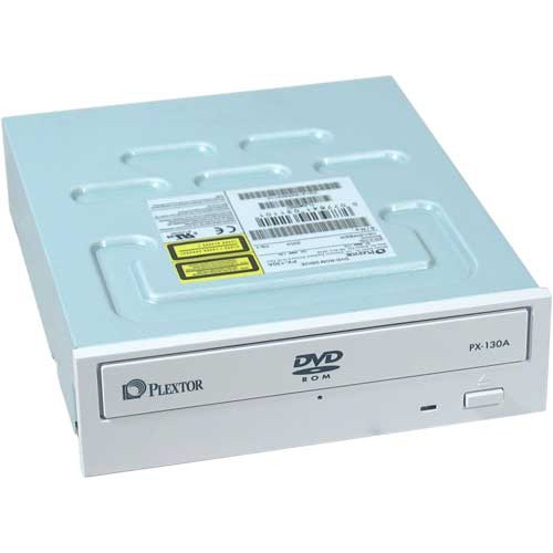 Lecteur graveur Plextor PX-130A/T3BP Plextor PX-130A - Lecteur DVD-ROM Blanc 16/50x IDE (bulk)