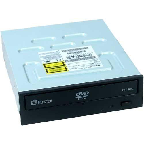 Lecteur graveur Plextor PX-130A Plextor PX-130A - Lecteur DVD-ROM 16/50x IDE Noir (bulk)