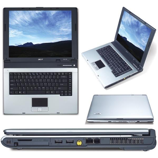 """PC portable Acer Aspire 1683WLMi - Centrino 1.7 GHz 512 Mo 80 Go 15.4"""" TFT DVDRW DL Wi-Fi G WXPH Acer Aspire 1683WLMi - Centrino 1.7 GHz 512 Mo 80 Go 15.4"""" TFT DVDRW DL Wi-Fi G WXPH"""