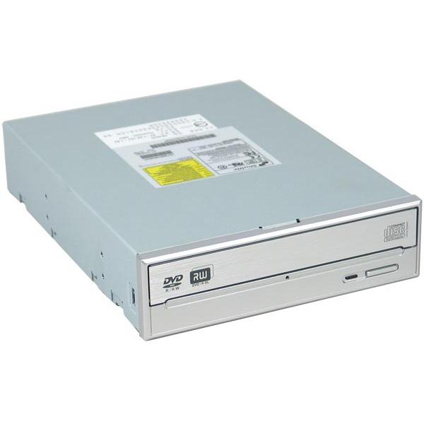 Lecteur graveur Shuttle CR40 Shuttle CR40 (coloris argent) - DVD(+/-)RW 16/4/16/4x DL(+) 4x CD-RW 40/24/40x IDE