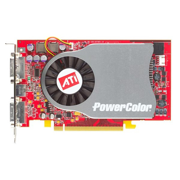 Carte graphique PowerColor X800 XL - 256 Mo DDR3 - AGP (ATI Radeon X800 XL) PowerColor X800 XL - 256 Mo DDR3 - AGP (ATI Radeon X800 XL)